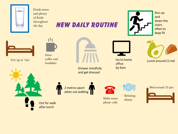New Daily Routine – tips to help us have a great day